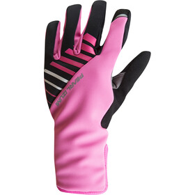 PEARL iZUMi Elite Softshell Gel Gloves Women screaming pink